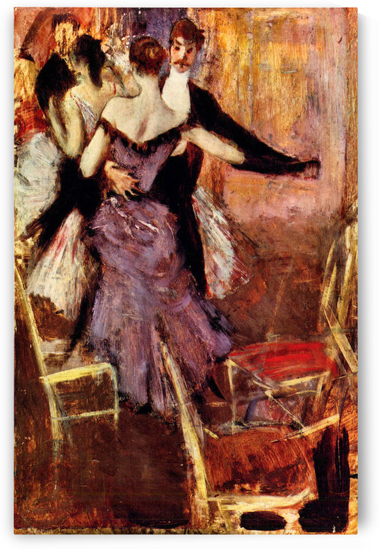 Ballerina in Mauve by Giovanni Boldini by Giovanni Boldini