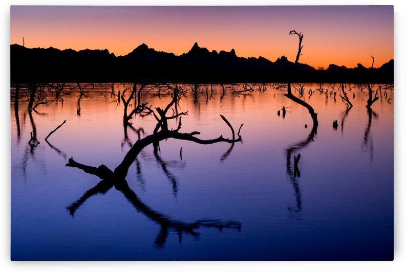 Topock Sunrise - Needles - California by Gary Whitton