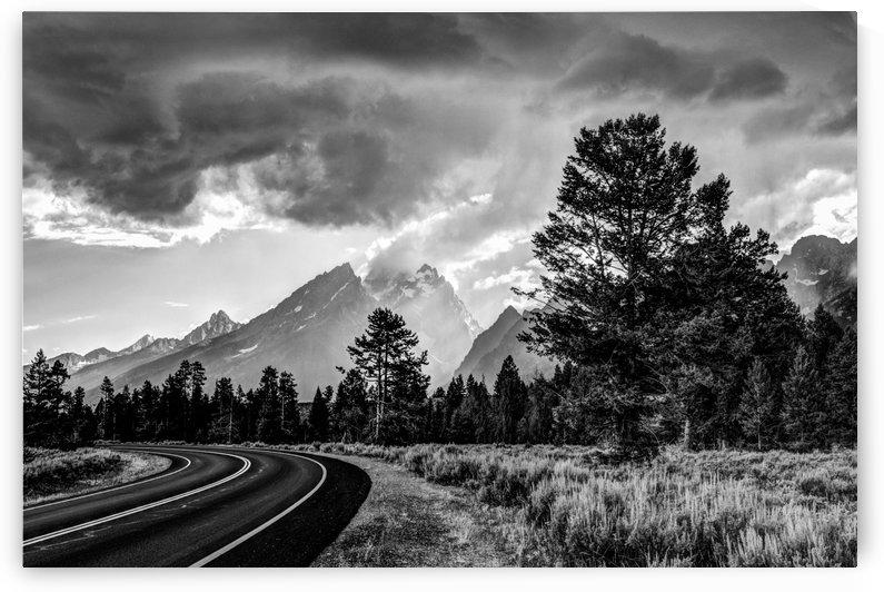 Grand Teton National Park Storm - Jackson Hole - Wyoming by Gary Whitton