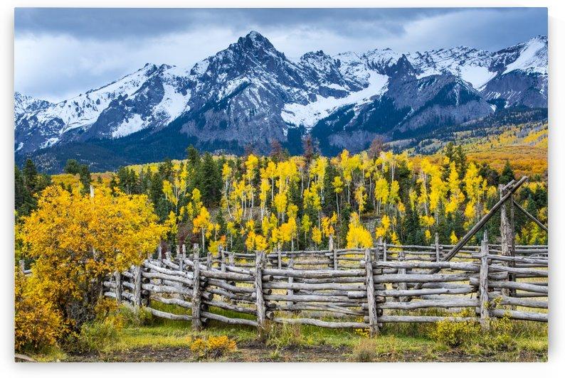 Sneffels Range Ranch in Fall - Colorado by Gary Whitton