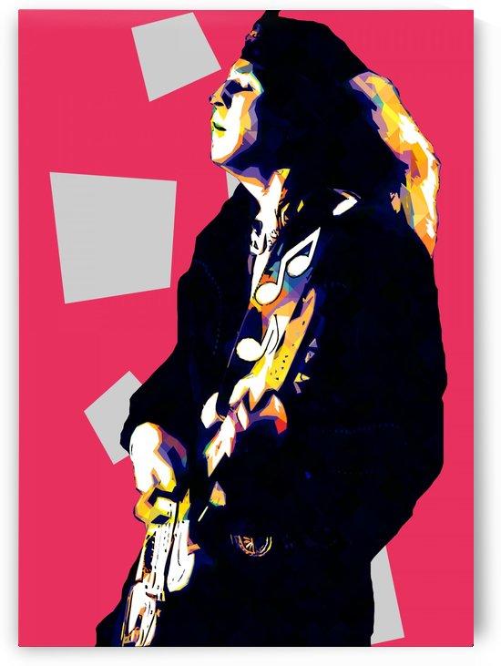 Stevie Ray Vaughan Pop Art 2 by RANGGA OZI