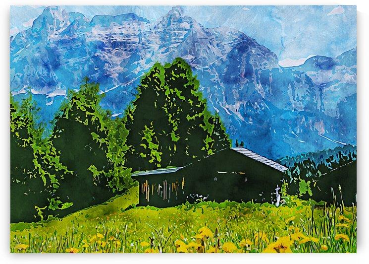 Nature illustration 5 by RANGGA OZI