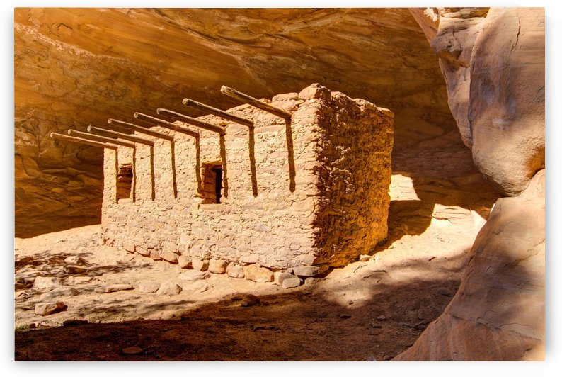 Doll House Anasazi Ruin - Utah by Gary Whitton
