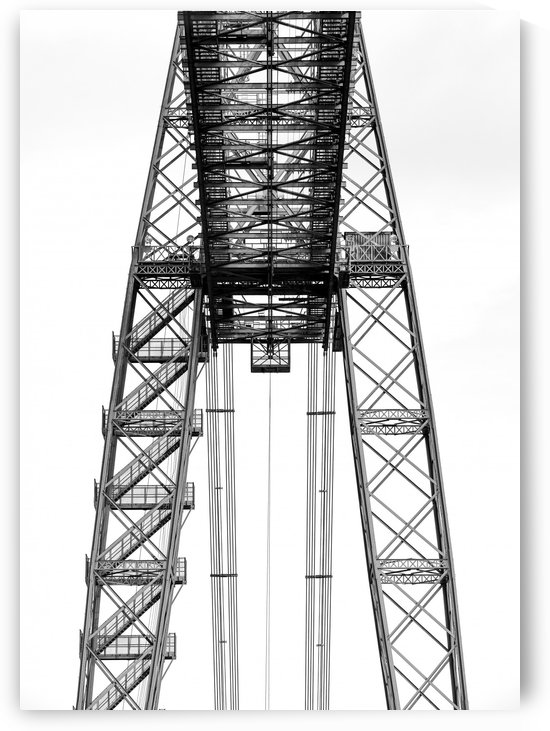 Transporter bridge by Attila R  Kovacs