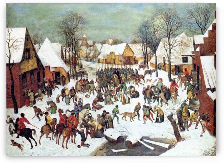 Infanticide in Bethlehem by Pieter Bruegel by Pieter Bruegel