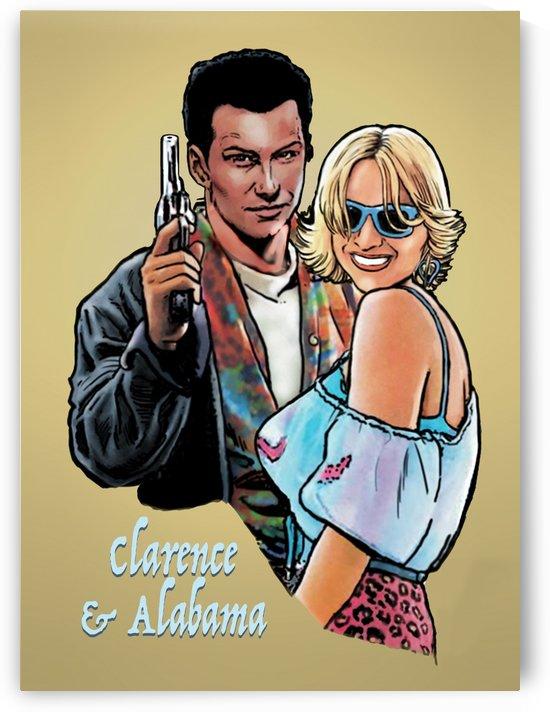 Tarantino: True Romance - Clarence and Alabama by Dan  Avenell