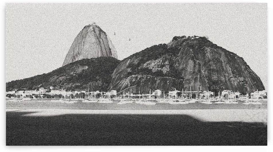 Beach IX by Carlos Wood