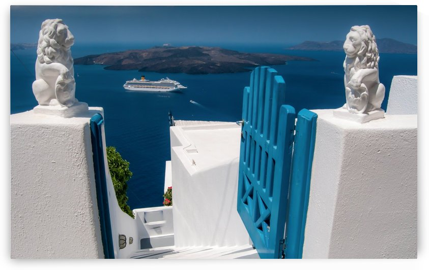 Santorini by Leighton Collins