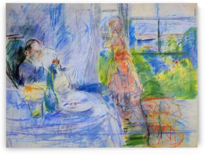 Interior on Jersey by Morisot by Morisot