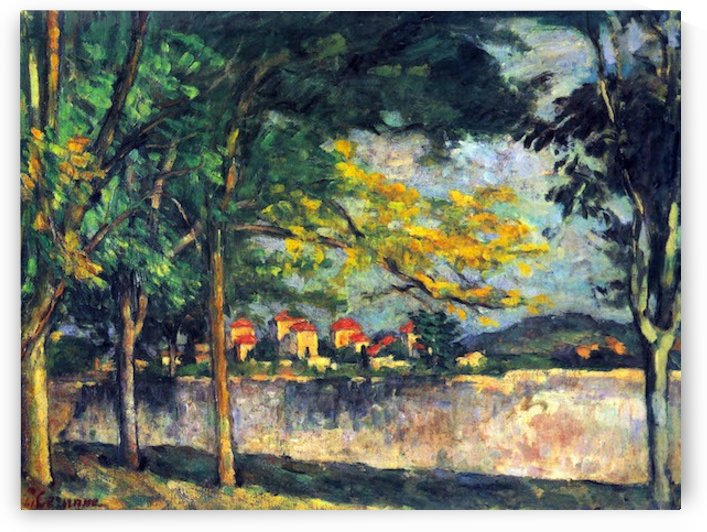 Into Street by Cezanne by Cezanne