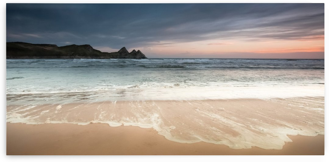 Three Cliffs Bay Swansea by Leighton Collins