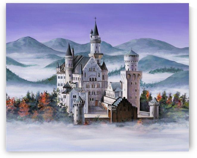 Neuschwanstein Castle by Michael Neamand