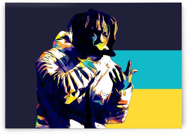Juice Wrld Best American Rapper Art Style 18 by RANGGA OZI