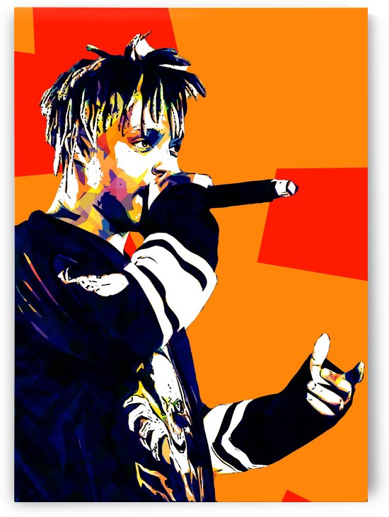 Juice Wrld Best American Rapper Art Style 15 by RANGGA OZI