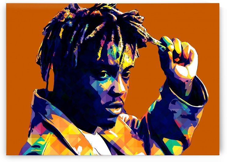 Juice Wrld Best American Rapper Art Style 2 by RANGGA OZI