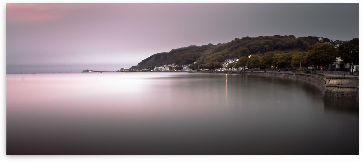 Mumbles coastline Swansea by Leighton Collins