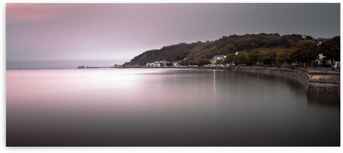 Mumbles coastline Swansea by Leighton Collins