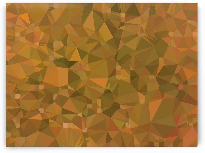 geometric triangle shape pattern abstract in brown by TimmyLA