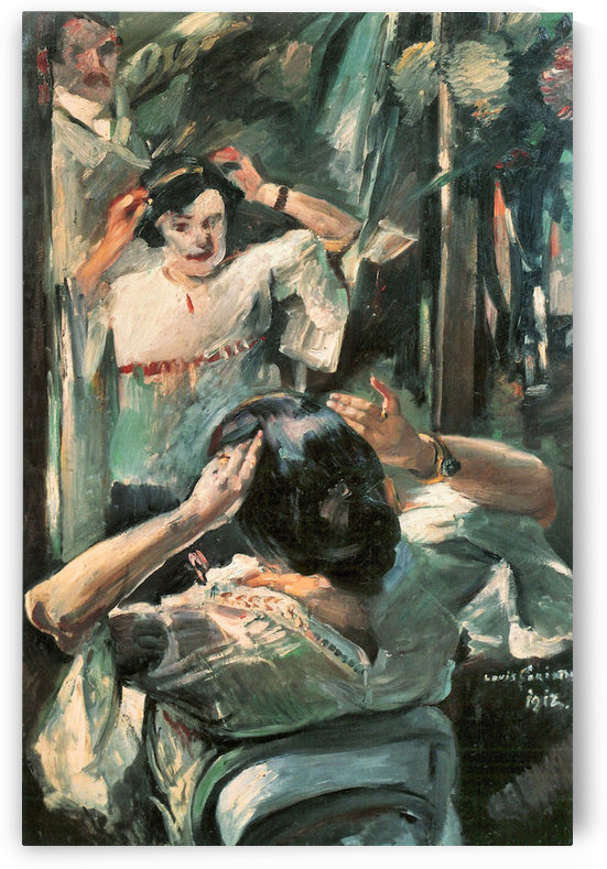 Before the mirror by Lovis Corinth by Lovis Corinth