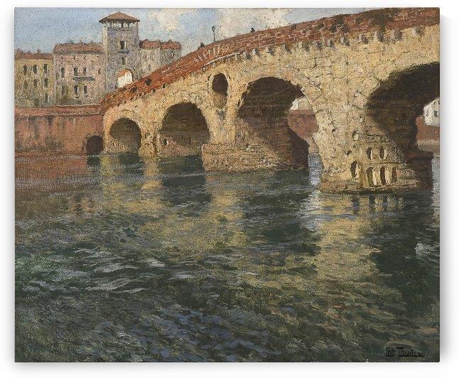 Ponte di Pietra, Verona by Frits Thaulow