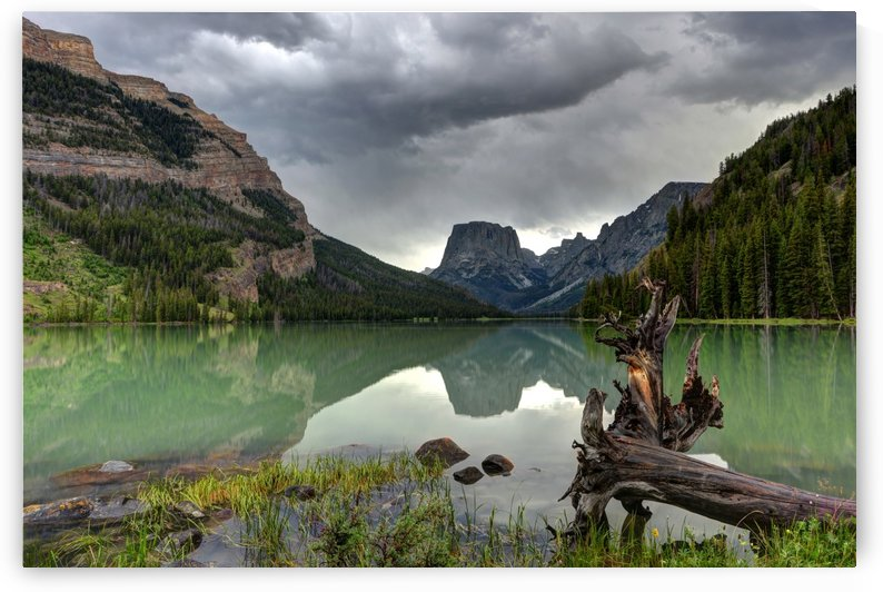 Squaretop Mountain Thunderstorm - Wind River - Wyoming by Gary Whitton