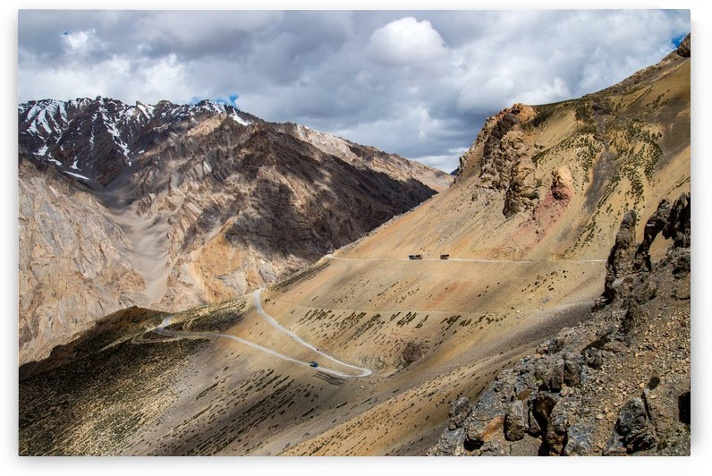 Manali Leh Highway Ladakh India by TJ Weisenberger II