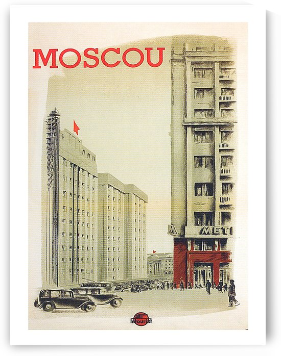 Moscow by vintagesupreme