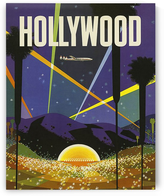 Hollywood Night Lights by vintagesupreme