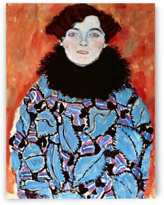 Johanna Staude by Klimt by Klimt