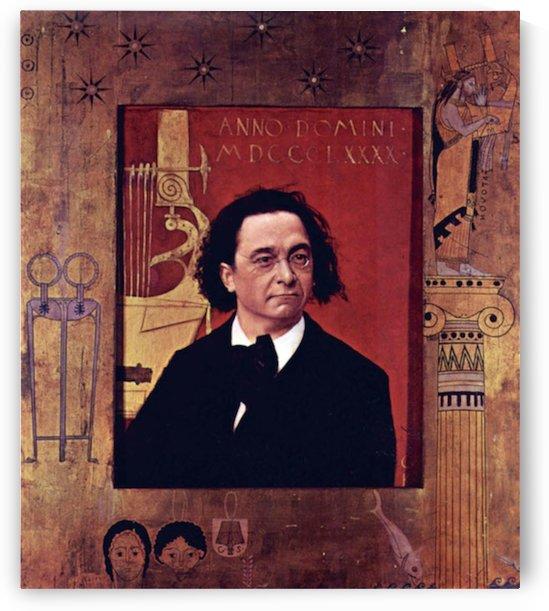 Joseph Pembauer by Klimt by Klimt