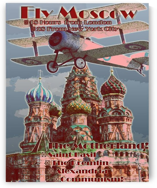 Fly Moscow by vintagesupreme
