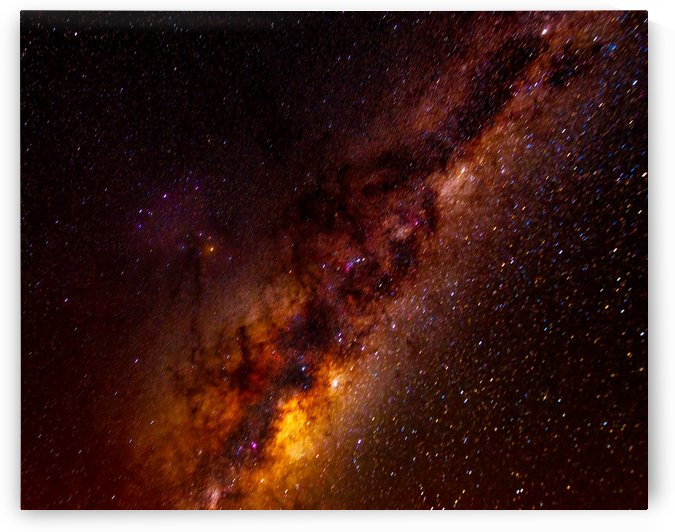 Galactic Core Explosion by MumbleFoot
