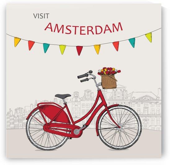 Amsterdam Bicycle by vintagesupreme