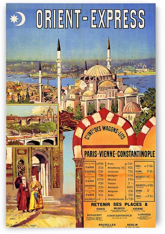 Orient Express Railway by vintagesupreme