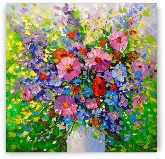 A bouquet of summer flowers by Olha Darchuk