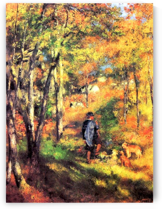 Jules le Coeur and his dogs by Renoir by Renoir