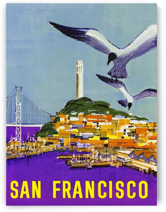 San Francisco Bay by vintagesupreme