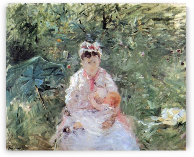 Julie Manet by Morisot by Morisot