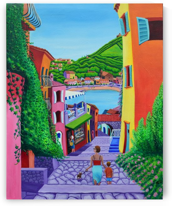 Colourful Collioure by Annette Gaffney