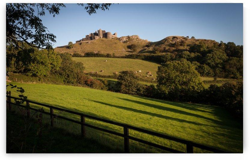 Carreg Cennen castle by Leighton Collins