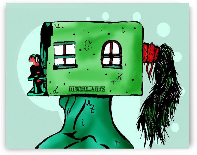 House Man  by Dukiri arts