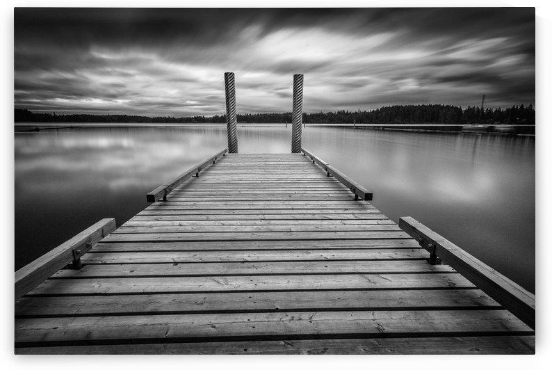 Comox lake Vancouver island by Leighton Collins