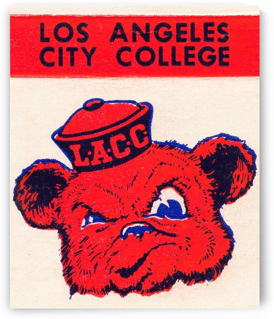 los angeles city college logo by Row One Brand