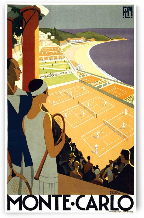 Tennis in Monte Carlo by vintagesupreme
