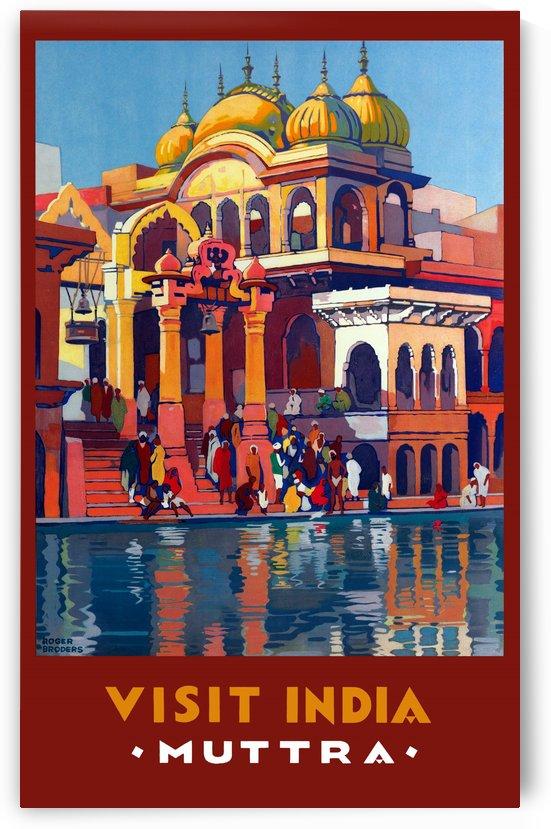 Mathura City India by vintagesupreme