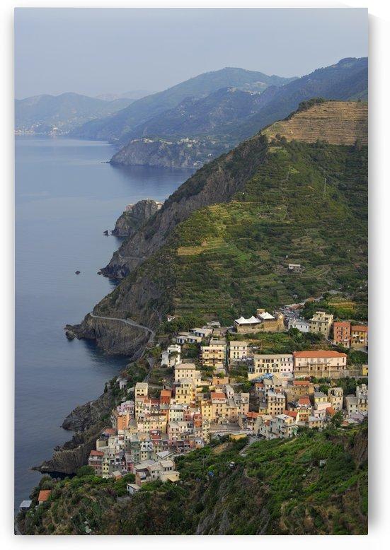 Riomaggiore and Cinque Terre National Park Italy by Petr Svarc