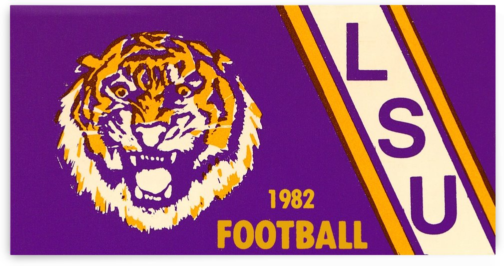 1982 LSU Football by Row One Brand