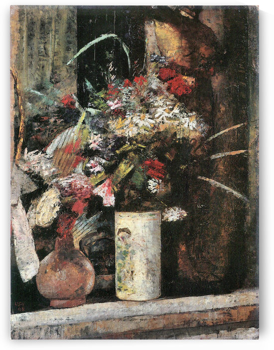 Blooms by Lesser Ury by Lesser Ury
