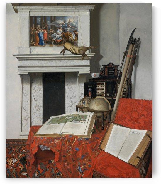 Room Corner with Curiosities by Jan van der Heyden