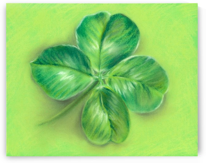Lucky Four Leaf Clover by MM Anderson